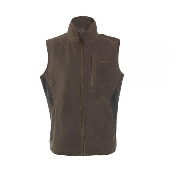 Deerhunter bonded fleece waistcoat